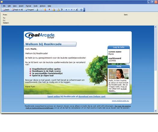 RealArcade.eu email correspondence