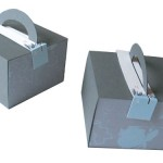 Gray Stackables with Round Handles